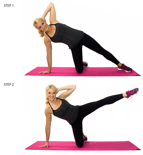 Kneeling Side Crunch
