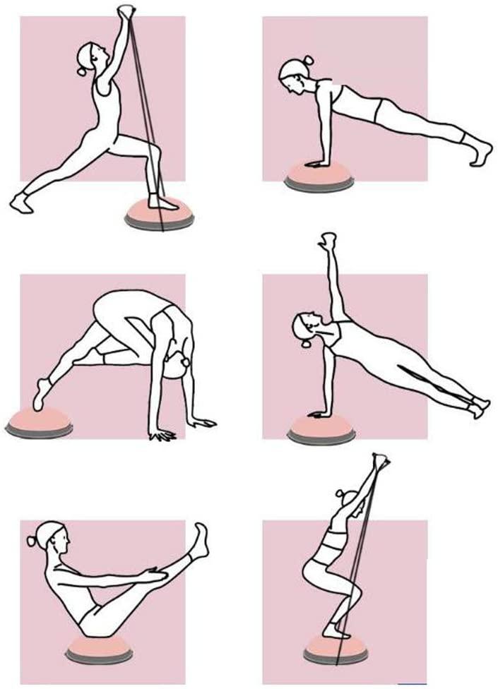 Упражнения с босу.