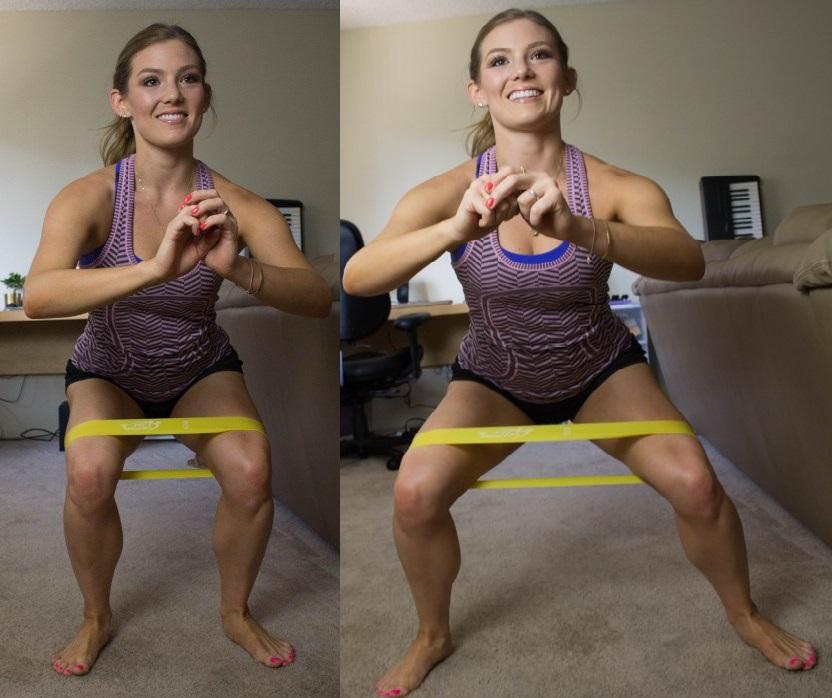 Самая эффективная программа тренировок с резинками для фитнеса Mini Bands