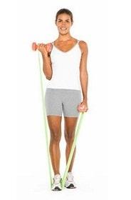 тренировка резина для фитнеса
