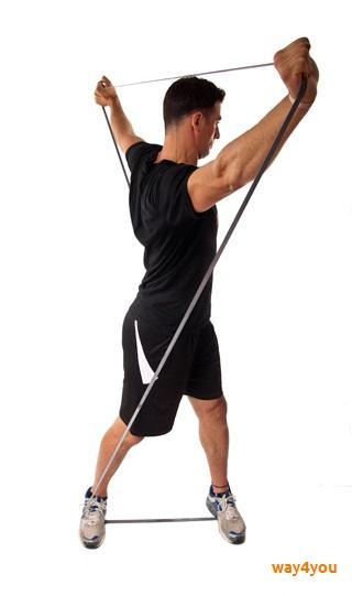 Резинка для фитнеса Esonstyle — упражнения, описание